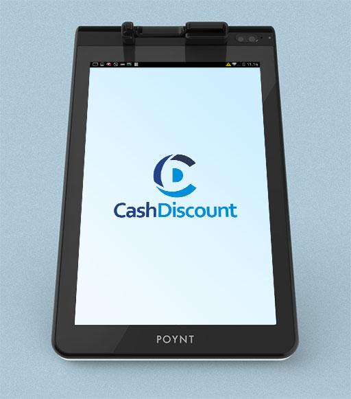 cash discount poynt app